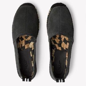 Rag & Bone Adria Del Rey Suede Espadrille Size 8.5